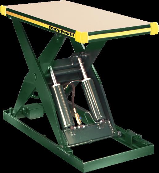 Backsaver Hydraulic Lift Table