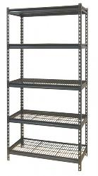 Pre-Packaged Boltless Modular Steel Shelving Wire