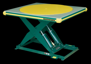 Flush Mount Turntable Lift Table