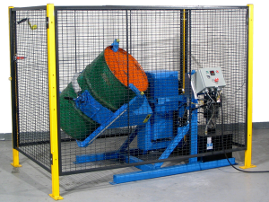 Automated Tilt-To-Load Drum Tumbler