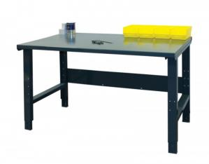 Height Adjustable Steel Top Industrial Workbench