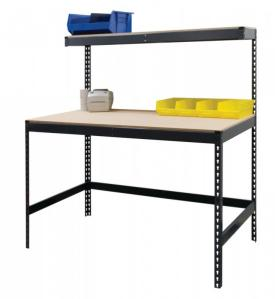 Boltless Workbench plus Top Shelf
